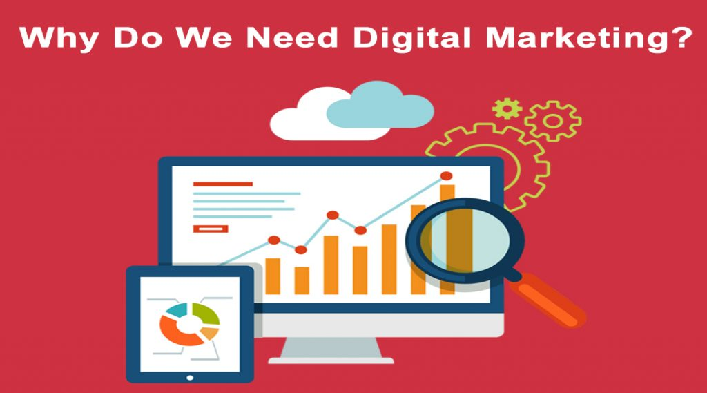 why need digital marketing